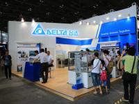 台达在中国国际机器人展览会上展示该领域的新成果